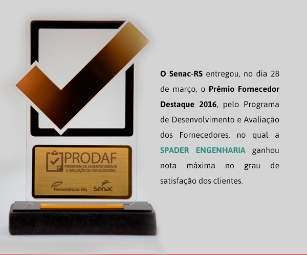 spader-engenharia-nota-maxima-premio-senac